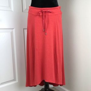Athleta Beachcomber jersey high low skirt